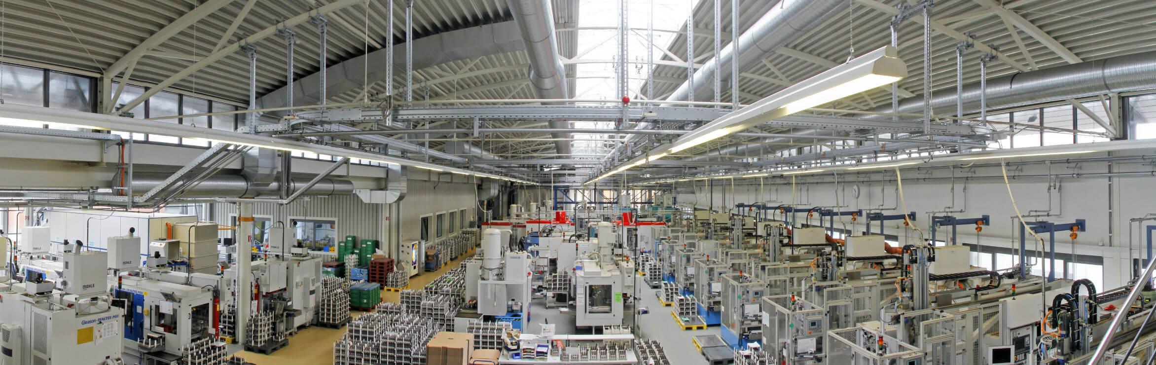 Reich GmbH Fabrikhalle