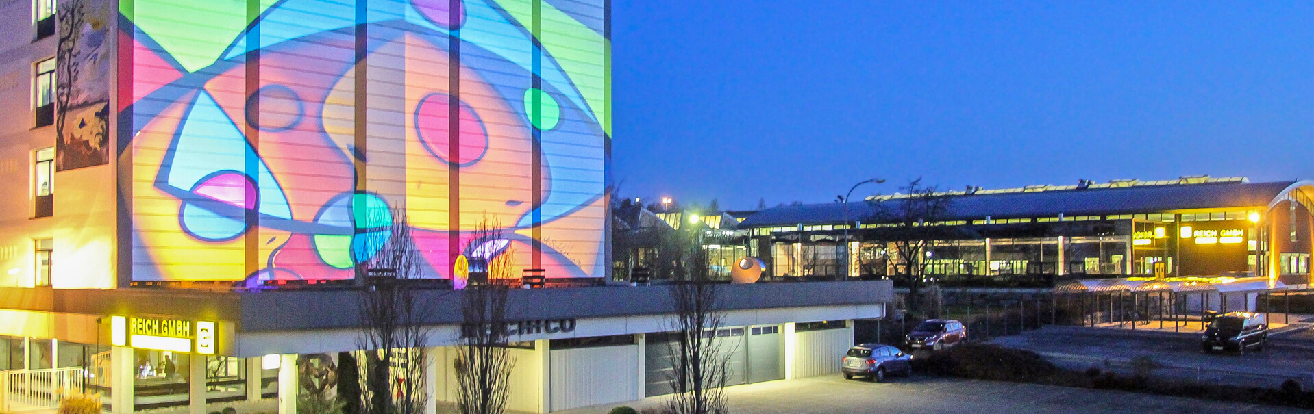 Reich GmbH Nachtbild